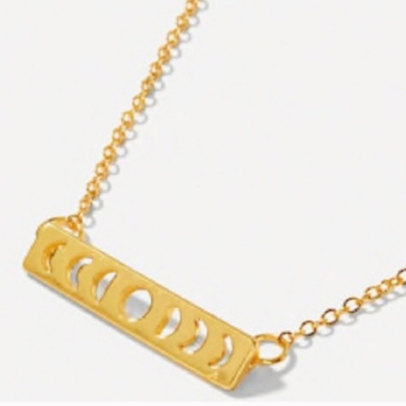 Jewelry - 🆕 MOON PHASE BAR NECKLACE